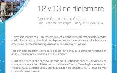 Simposio Bioeconomía en el CCC del MinCyT
