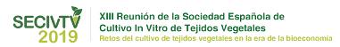 XIII Reunión de la Sociedad Española de Cultivo In Vitro de Tejidos Vegetales.